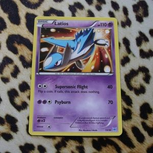 Latios 13/30 Pokemon Card
